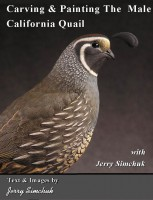 Carving & Painting California Quail