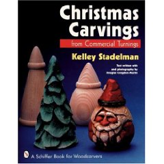 Wooden Book Christmas turnings