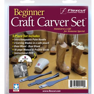 Flexcut SK110 Beginner Craft Carver Set