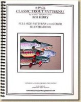 6 Pack Classic Trout Patterns (3 DIFFERENT BOOKS)