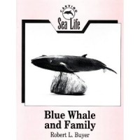 Carving Sea Life Blue Whale and Family