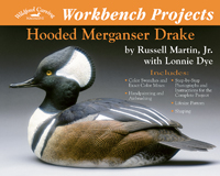 Workbench Projects Hooded Merganser Drake