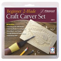 Beginner 2-Blade Craft Carver Set SK111