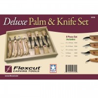 Flexcut Deluxe Palm & Knife Set KN700