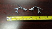 Small Pewter Deer Antlers