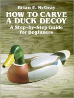 How to carve a duck decoy
