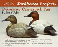 Workbench Decorative Canvasback Pair
