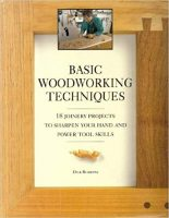 Basic Woodworking Techniques