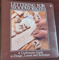 Lettering for Woodworkers