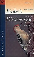 Birder's Dictionary