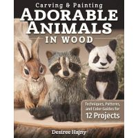 Adorable Animals in Wood Kit