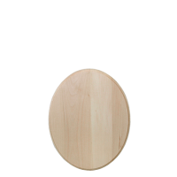 Oval Plaque basswood