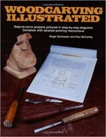 Woodcarving Illustrated Book 1 & 2