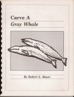 Carving Sea Life Gray Whale