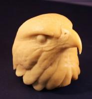 Randy Martin Red Tailed Hawk Head