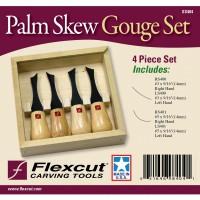 Flexcut SS404 Skew Gouge Set