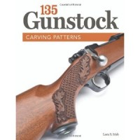 135 Gunstock Carving Patterns  by lora S Irish