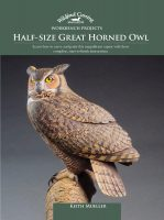 Work Bench Projects Half-Size Great Horned Owl