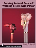 Carving Animals Canes & Walking Sticks With Power